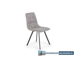 Krzesło na stalowych nogach